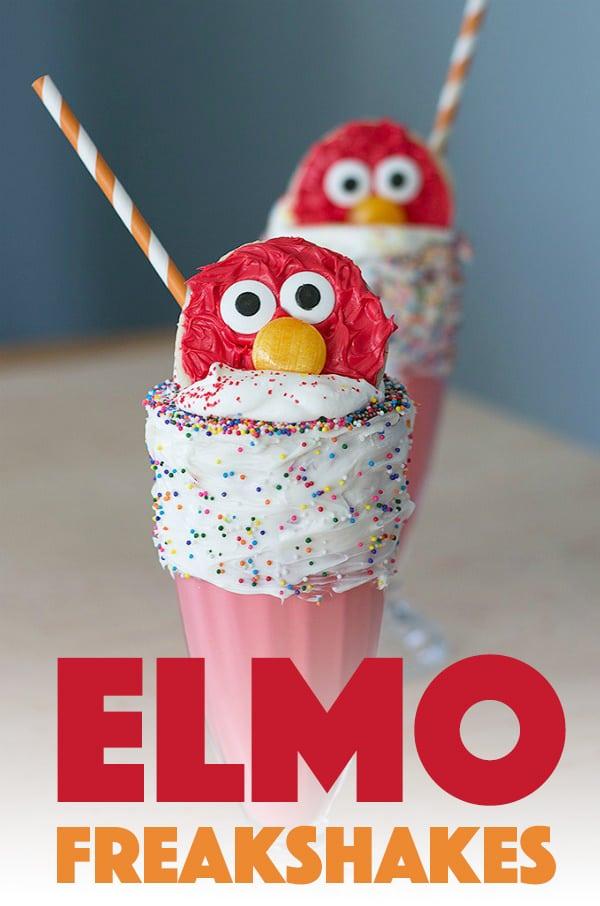 Elmo Freakshakes!