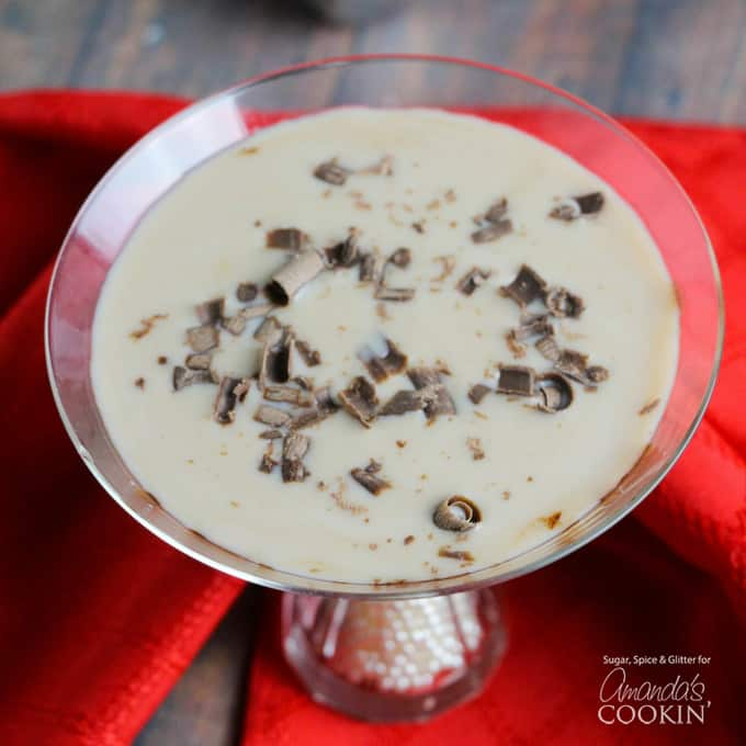 This Baileys Chocolate Martini is creamy and smooth, just as you would expect from any cocktail featuring Baileys.
