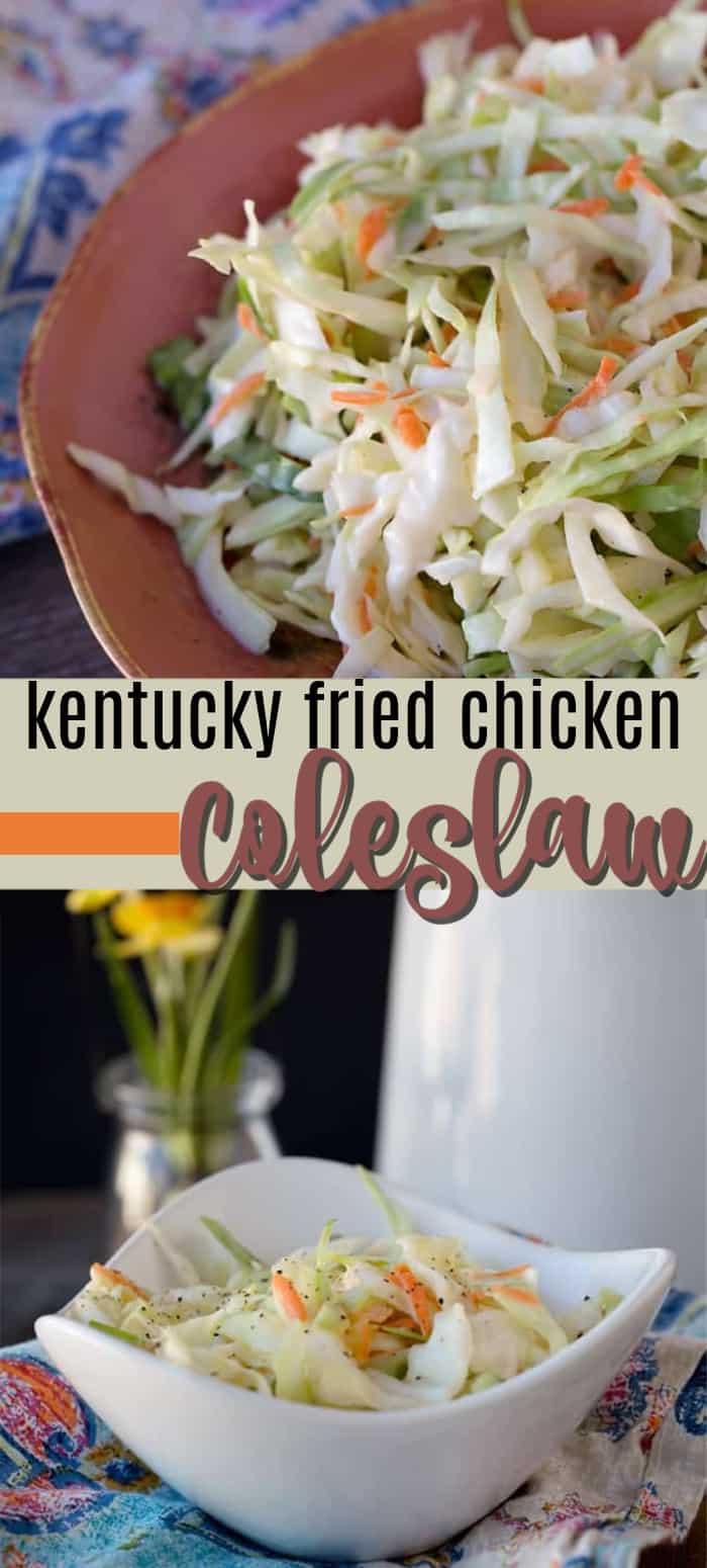 KFC coleslaw pin image