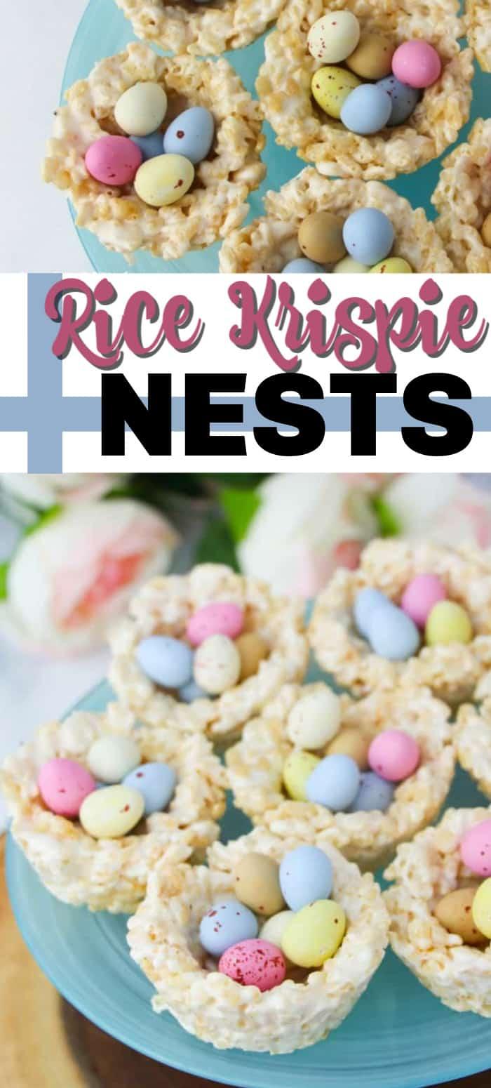 rice krispie nests