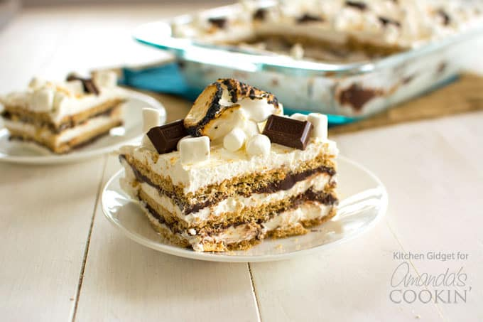 Smores Icebox Cake The Kitchen