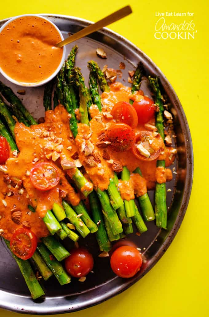 Roasted Asparagus side dish