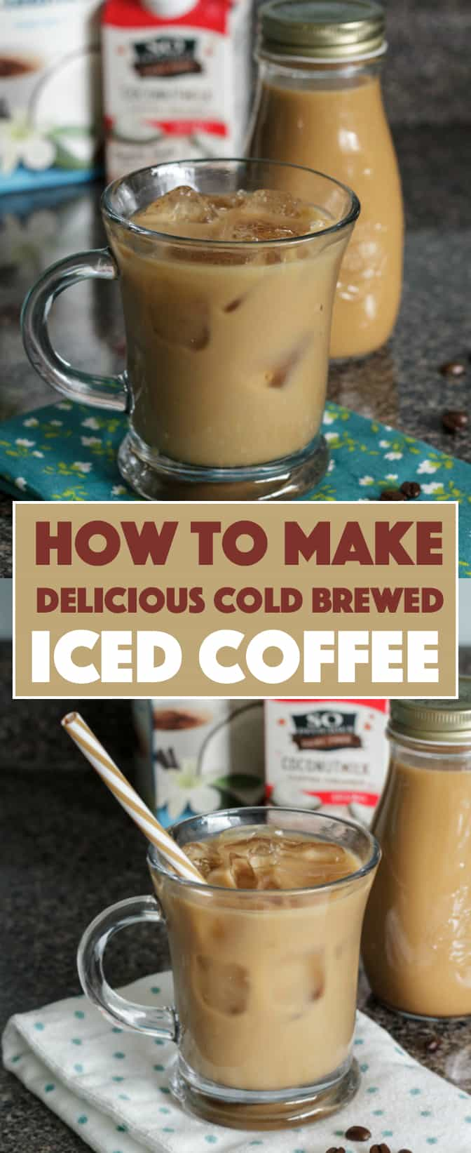 Iced Coffee How To Make Delicious Cold Brew Vanilla Iced Coffee