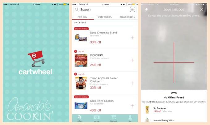 Cartwheel app from Target