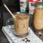 I love iced coffee, especially vanilla iced coffee! Making cold brew coffee is easy, but does require a little planning as the brew will need time to steep.