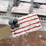 Make American Flag Brownies for the 4th!