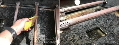 burner tubes on grill