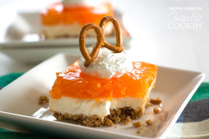 Mandarin Orange Pretzel Salad Recipe