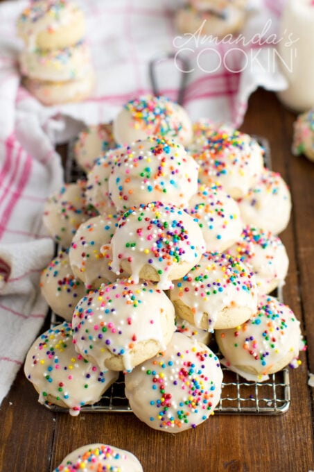 Anisette Cookies Recipe Traditional Italian Cookies