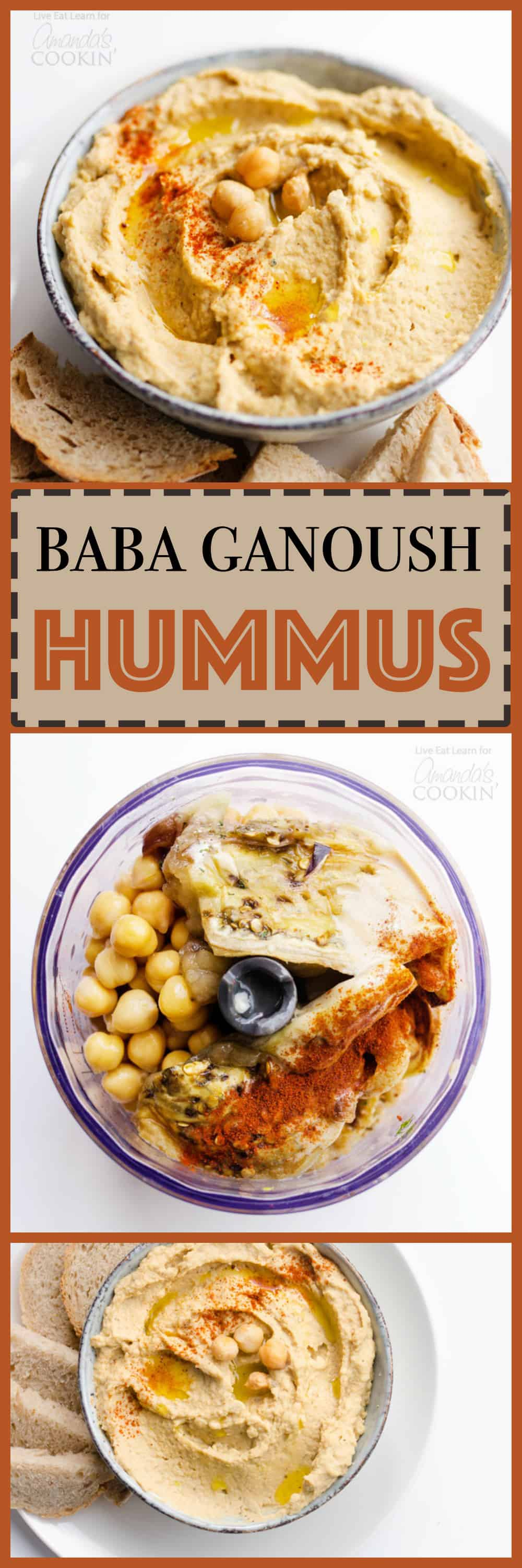 This Baba Ganoush Hummus is a hybrid between the rich and delicious eggplant dip and the classic chickpea hummus, spread it on just about everything!