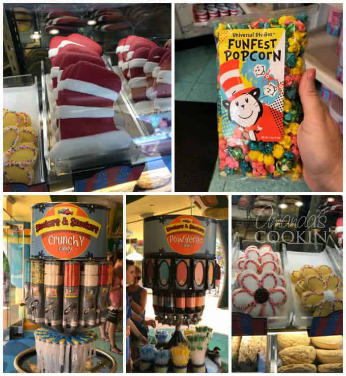 Dr Seuss fun food at universal orlando