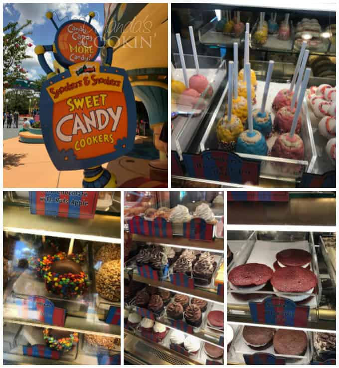 Dr Seuss fun foods at Universal