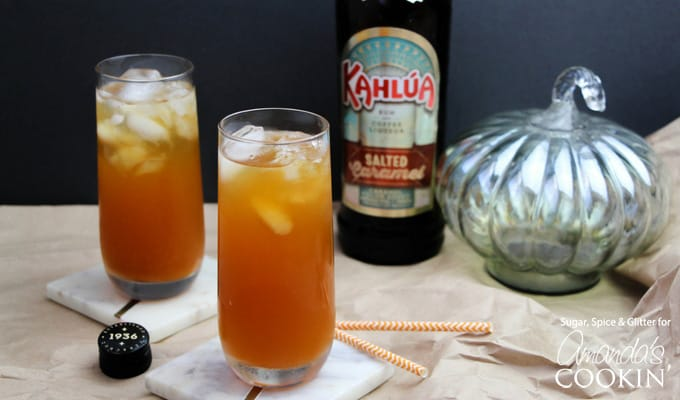 Caramel Pumpkin Cocktails