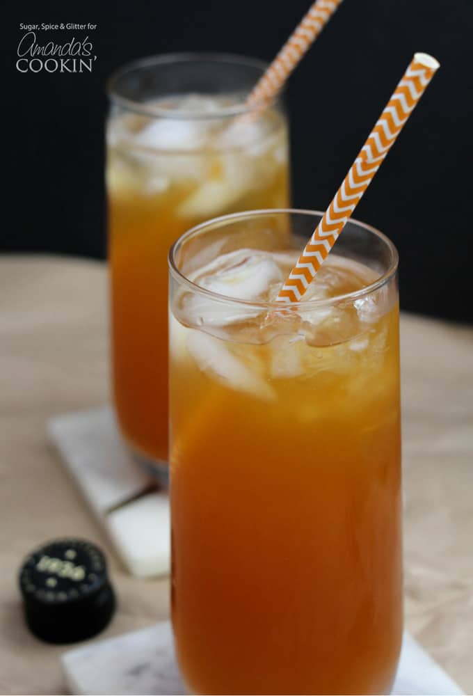 Caramel Pumpkin Cocktail, perfect for fall gatherings!