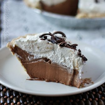 This amazing recipe for French Silk Pie tastes just like the famous Baker's Square version. I make this delicious copycat French Silk Pie every holiday.