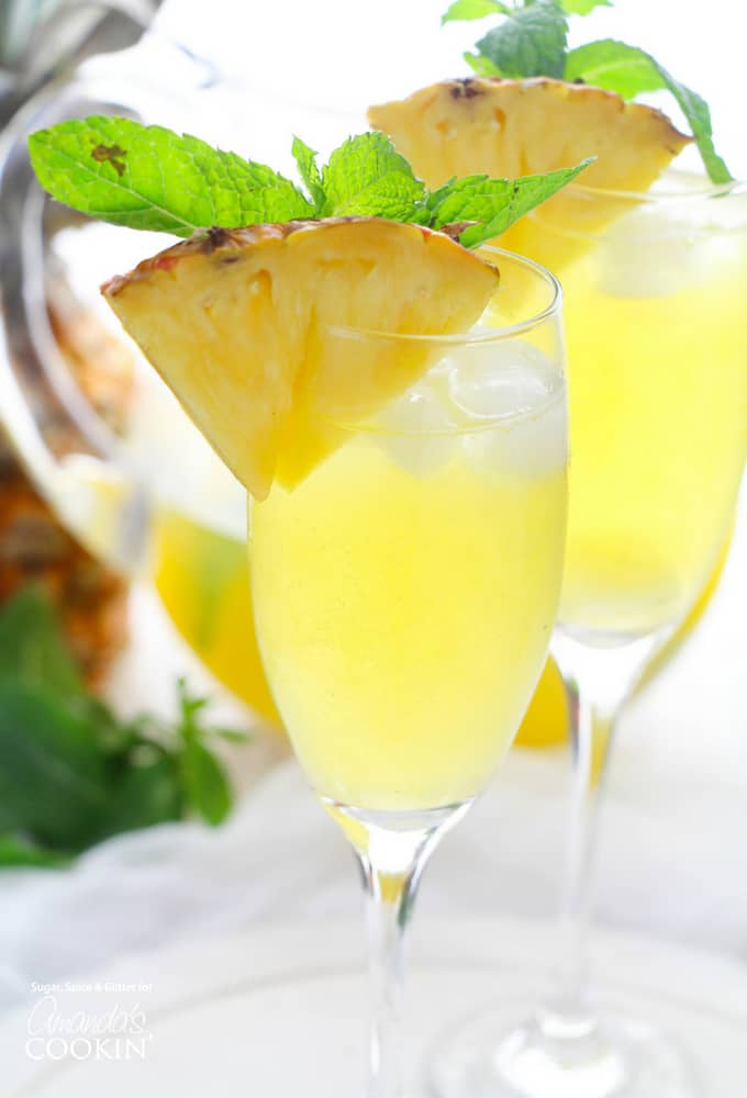 Pineapple Prosecco Punch Recipe