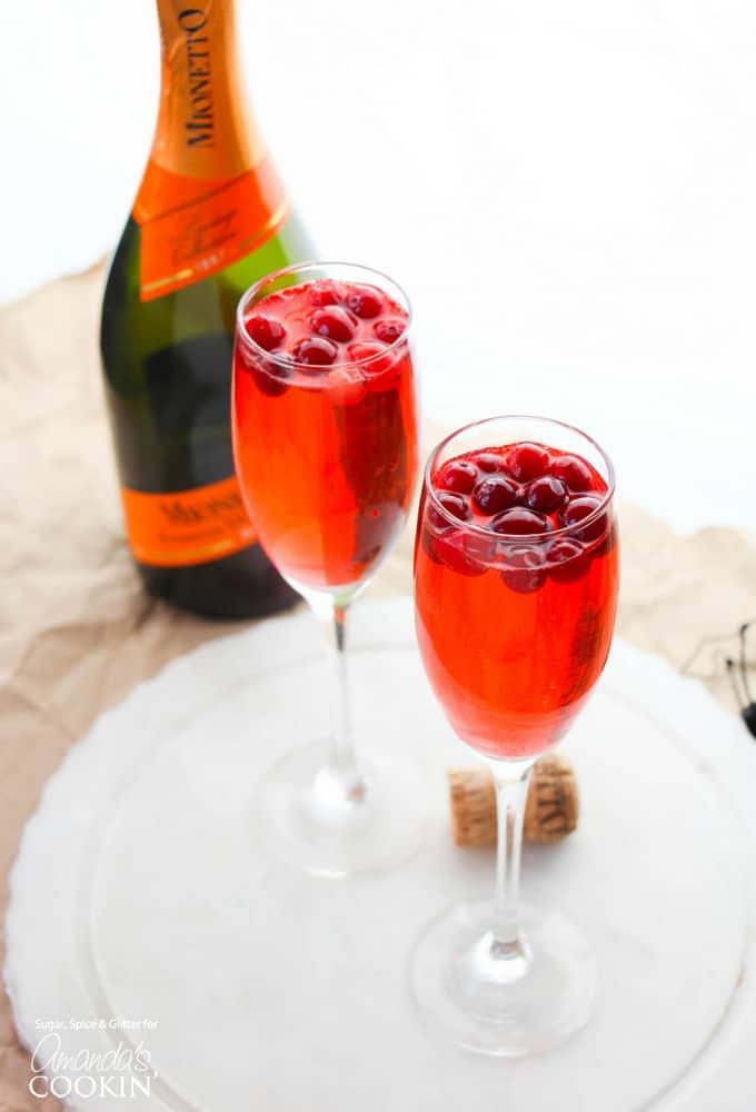 Sparkling Cranberry Splash