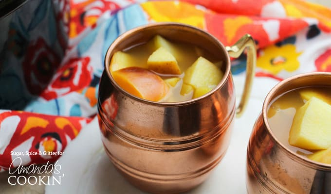 Crockpot Caramel Apple Cider Recipe