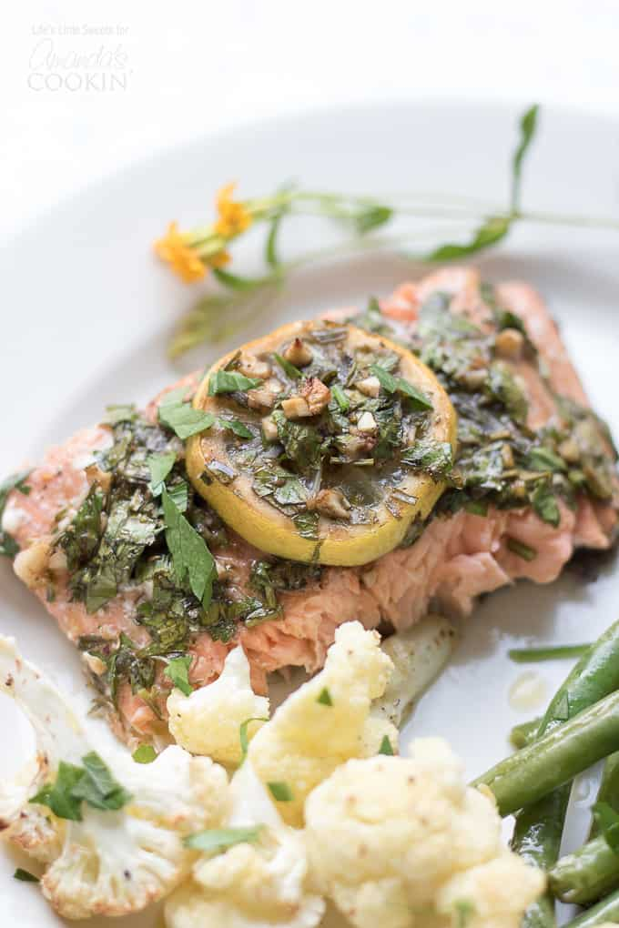 Sheet Pan Salmon Dinner 1