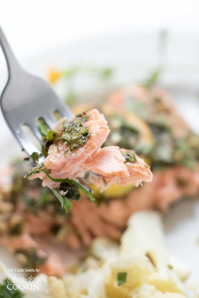 Fall-off-the-fork delicious sheet pan salmon!