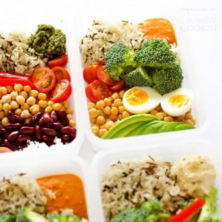 Meal prep has never been easier. Have you been wanting to learn how to meal prep your lunches? Here's an easy way to get lunch made quickly and deliciously.