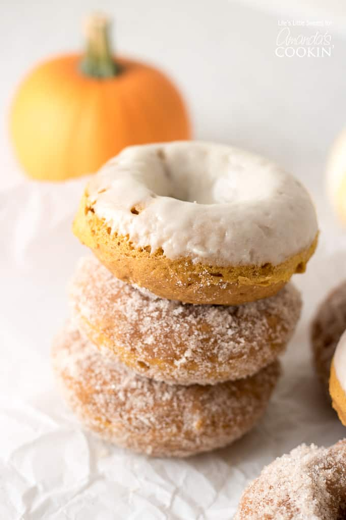I know you will love these Pumpkin Spice Donuts!