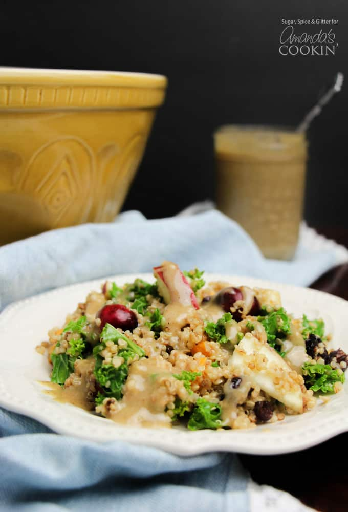 Fall quinoa salad recipe