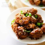 Sticky Garlic Cauliflower