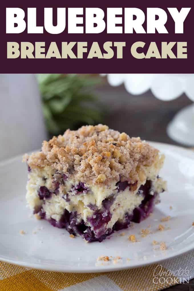 Blueberrybuckle Cake