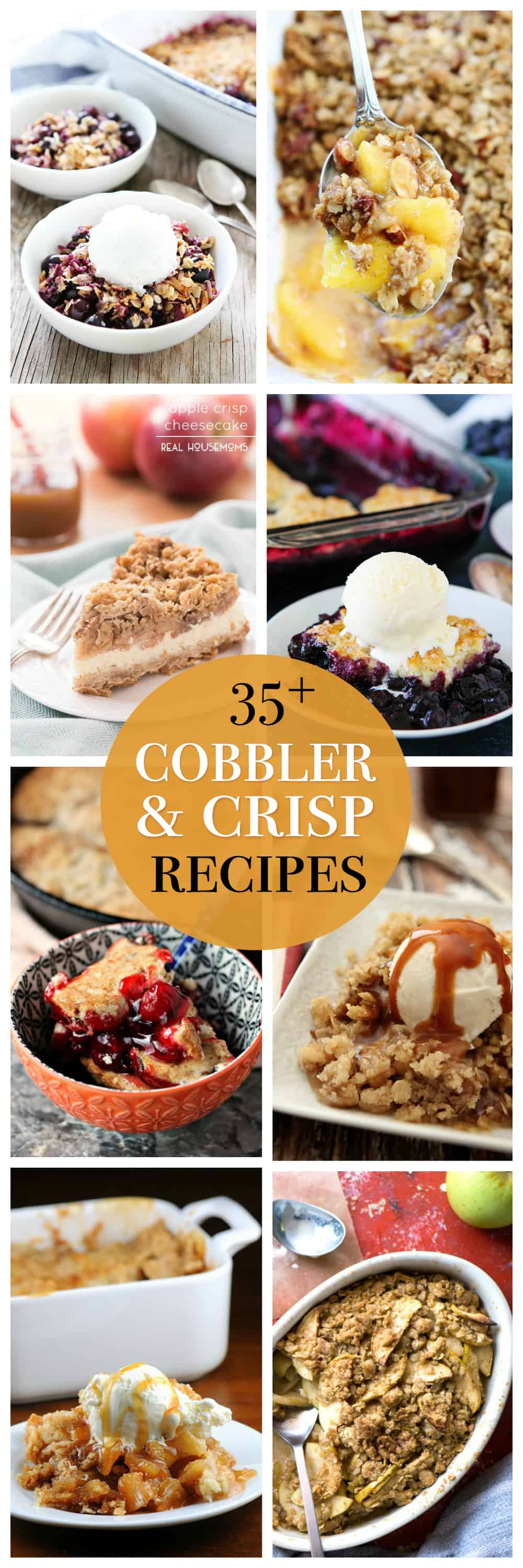 35 Delectable Crisp and Cobbler Recipes: Today we're bringing you a collection of everyone's favorite original One-Pan Desserts.