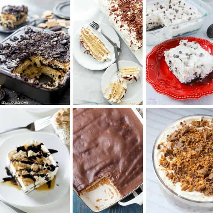 Lots of one pan desserts to enjoy!