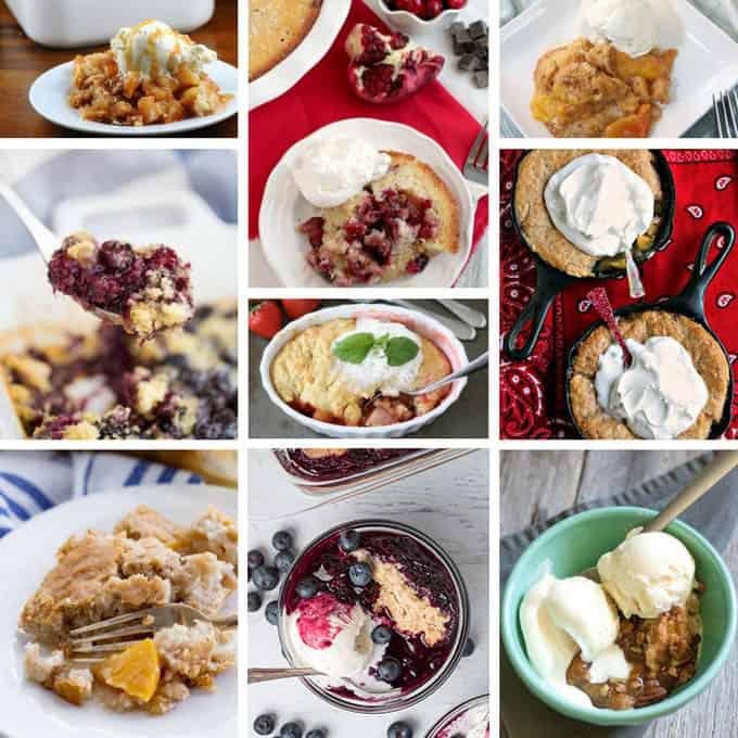 Cobbler and crisp recipes