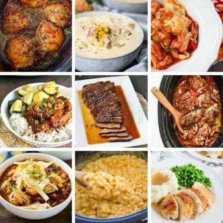 Easy and delicious slow cooker dinner recipes for all occasions.