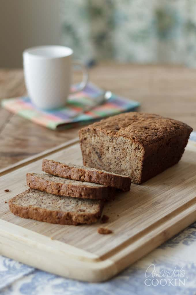 Banana bread has always been a family favorite.