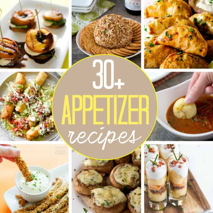 A collection of delicious and easy appetizers for any occasion!