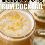hot buttered rum - hot toddy