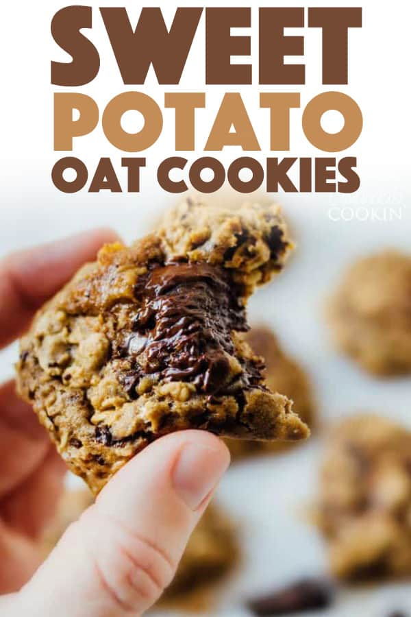 Sweet Potato Oat Cookies