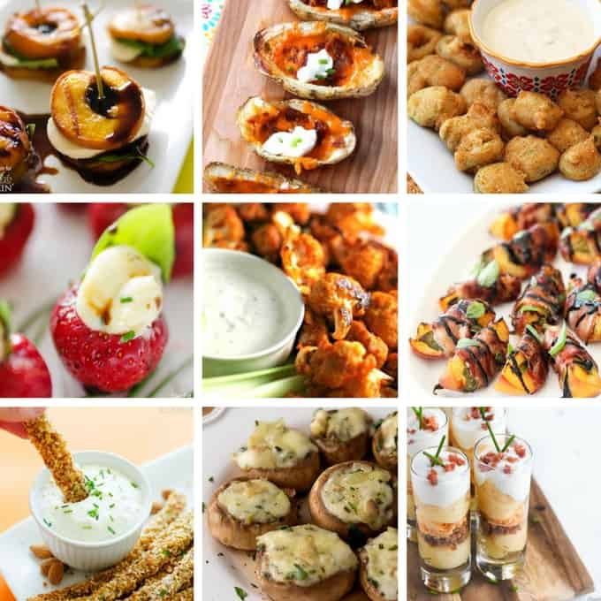 Appetizers: the best part about the party!