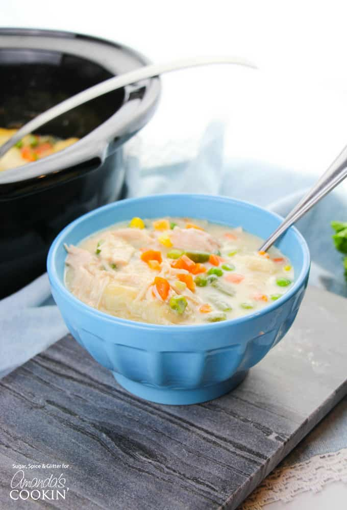Delicious Chicken and Dumpling soup