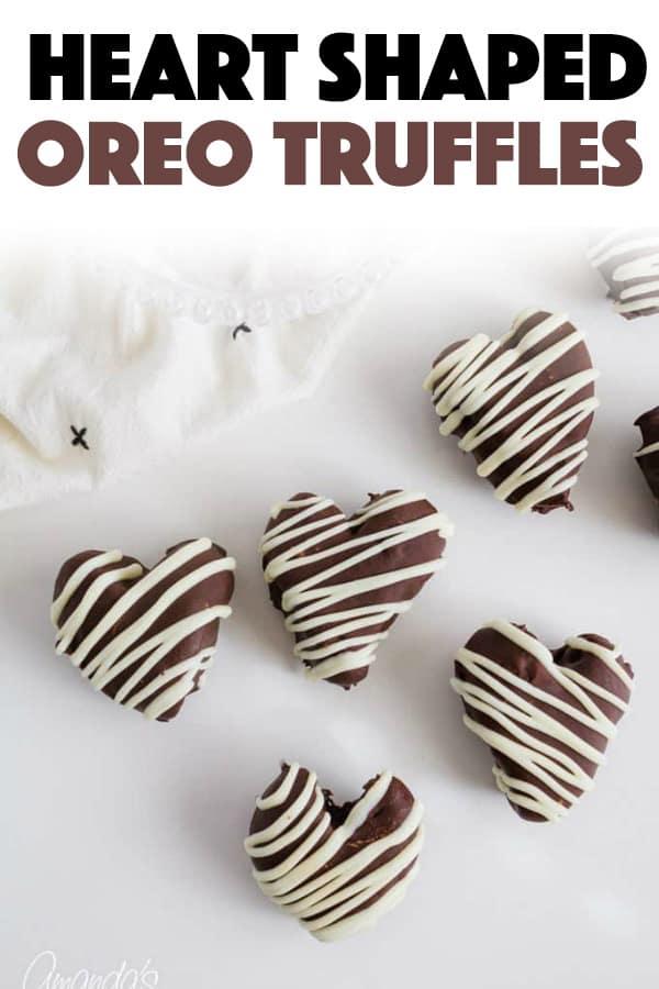 Heart Oreo Truffles