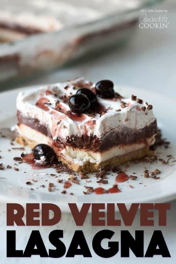 Red Velvet Lasagna Dessert