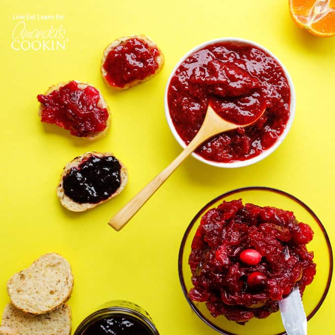 You can easily make this homemade berry jam with frozen fruit!
