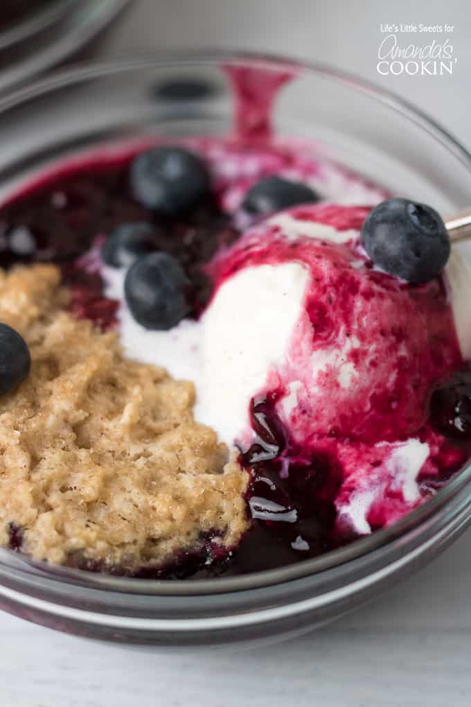 Hi Everyone, are you looking for a classic, fruit cobbler that you can serve any time of the year and one that everyone will surely love? Look no further than this Blueberry Cobbler