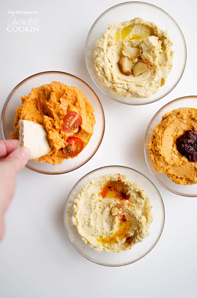 How To Make Hummus: 4 different ways!