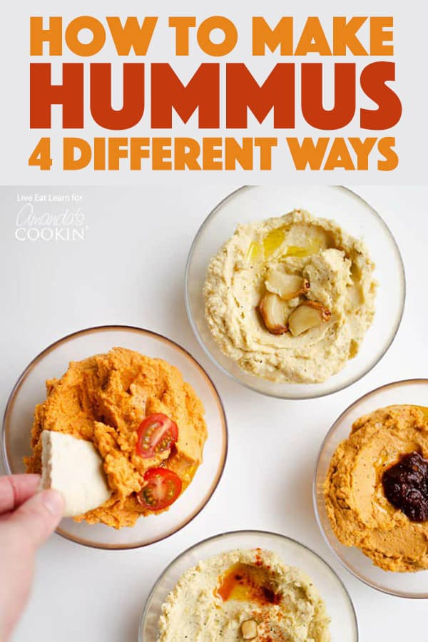 How to Make Hummus: 4 different ways