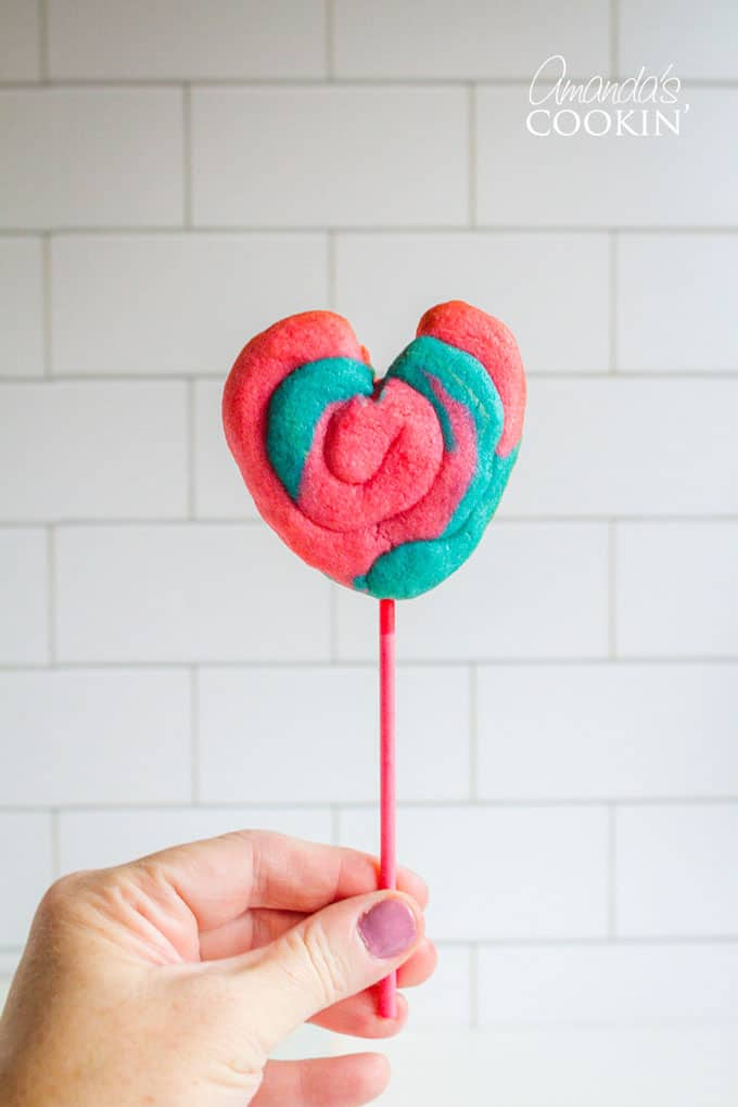 Enjoy your Valentine Play Dough Cookie Pops!