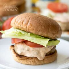 The Best Ever Burgers with a special sauce!