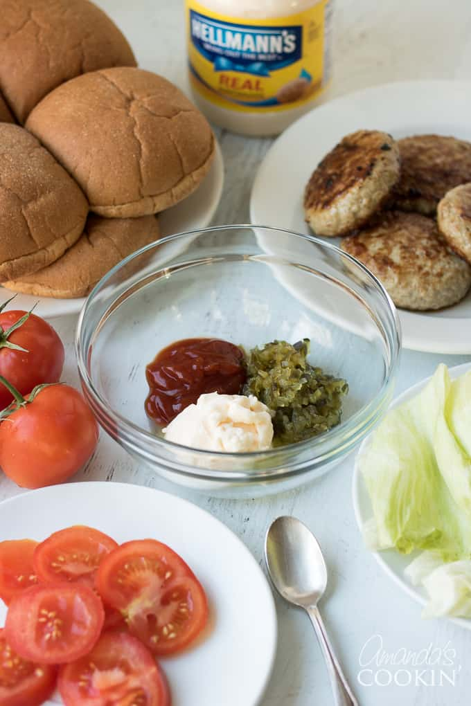 Ingredients for the best ever burgers