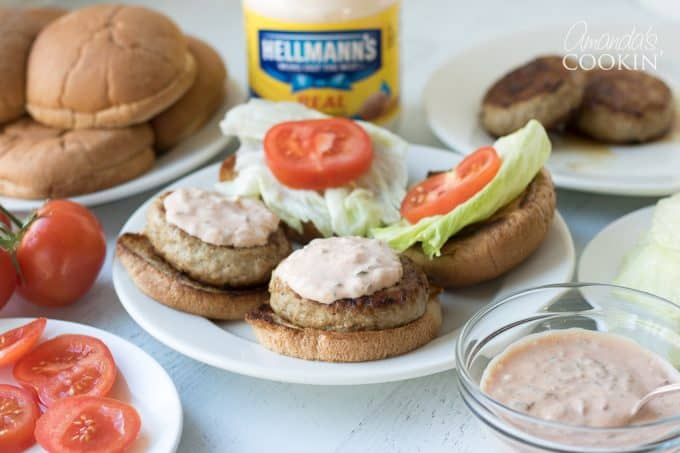 This special sauce will turn an ordinary burger into the best ever burgers!