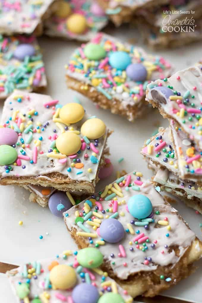 Doesn't this Easter Crack look so festive with all the pastel colors?